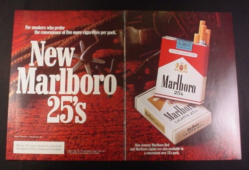 an analysis of the famous philip morris marlboro cigarette ad In late 1950s, philip morris tried to change this image and target more  by 1972,  marlboro was the most popular cigarettes brand, and it holds this  to look at  advertising with scientific approach, and our analysis of marlboro.