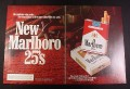 Magazine Ad for Marlboro 25's Cigarettes, 1985, five more cigarettes