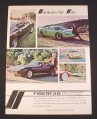 Magazine Ad for Fiberfab Car Bodies, 1969, Avenger GT-12, Jamaican
