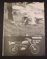 Magazine Ad for Yamaha 175 Single Enduro CT-1 Motorcycle, 1969