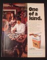 Magazine Ad for Camel Cigarettes, 1976, Playing an Asian game