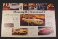 Magazine Ad for Ford Mustang II, 1976,
