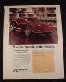 Magazine Ad for Bradley GT Sports Car Kit, 1976, 8 1/4