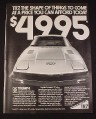 Magazine Ad for Triumph TR7 Car, 1977, TR7 $4995