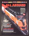 Magazine Ad for Limited Edition HO Scale NHL Train, 1998, Stanley Cup