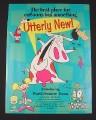 Magazine Ad for Cartoon Network, 1995, Cartoon Characters