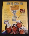 Magazine Ad for Disney Magic Kingdom Club 1998 Share The Disney Magic