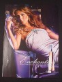 Magazine Ad for Enchanting Perfume, 2007, Celine Dion Celebrity