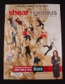 Magazine Ad for Shear Genius TV Show, 2007, Bravo, 8