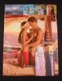 Magazine Ad for Bora Bora Fragrances for Men & Women, 2002