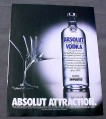 Magazine Ad for Absolut Attraction, 2002, Martini Glass