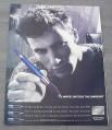 Magazine Ad for Cross Pen, 2000, Write Outside The Margins