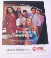 Magazine Ad for Beggars and Choosers TV Show, 2000 , Showtime
