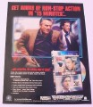 Magazine Ad for 15 Minutes Movie on DVD, 2001, Robert DeNiro