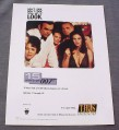 Magazine Ad for 15 Days of James Bond 007, TV, TBS Superstation 2000