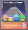 Magazine Ad for South Parks TV Show, 1999, 4th Grade, Comedy Central