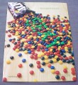 Magazine Ad for M&M's Candies, 2001, What is it About The Green Ones