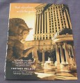 Magazine Ad for Caesers Palace Las Vegas, 2001