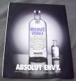 Magazine Ad for Absolut Envy, 2002, Large & Small Vodka Bottles