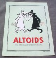 Magazine Ad for Altoids, 2001, Mad Magazine Spy vs Spy