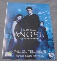 Magazine Ad for Angel TV Show, 1999, David Boreanaz, Charisma Carpenter