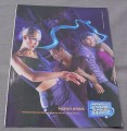 Magazine Ad for Breathe Savers Cool Blasts, 2000, Women & Men Dancing