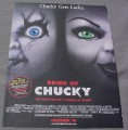 Magazine Ad for Bride Of Chucky Movie, 1998, Chucky Gets Lucky