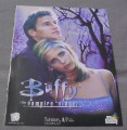 Magazine Ad for Buffy The Vampire Slayer TV Show, 1998, Angel & Buffy
