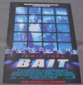 Magazine Ad for Bait Movie, 2000, Jamie Foxx