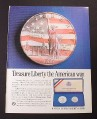 Magazine Ad for United States Liberty Coins, 1986
