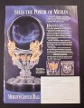 Magazine Ad for Merlin's Crystal Ball, Franklin Mint, 1997