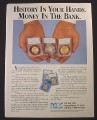 Magazine Ad for Professional Coin Grading Service PCGS, 1987