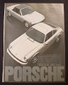Magazine Ad for Porsche 911 & 914 Cars, 1974