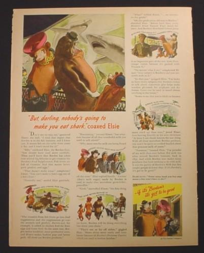 Magazine Ad For Borden S Milk Elsie The Cow Aquarium