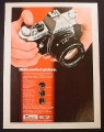 Magazine Ad for Pentax K2 Asahi Camera, 1976