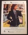 Magazine Ad for Aquascutum British Blazer Women's Fashions, 1977