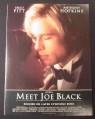 Magazine Ad for Meet Joe Black Movie, Brad Pitt, Anthony Hopkins, 1998