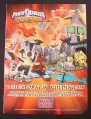 Magazine Ad for Mega Bloks Power Rangers Ninja Storm Toys, 2003