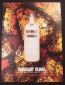 Magazine Ad for Absolut Vanilla, Absolut Float, 2004