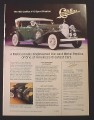 Magazine Ad for 1932 Cadillac V-16 Sport Phaeton Die-Cast Car, Danbury Mint