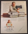 Magazine Ad for Canon PC-10 PC-25 PC-20 Copiers, Jack Klugman Celebrity