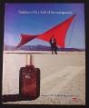Magazine Ad for Aramis 900 Herbal Cologne For Men, Man in the Desert, 1985