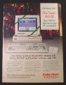 Magazine Ad for Radio Shack Tandy 1000 SL PC Computer, Christmas Sale, 1988