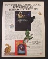 Magazine Ad for Time Life The Enchanted World Book Series, Wizards & Witches, 1988