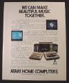 Magazine Ad for Atari Home Computers, 1982
