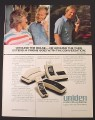 Magazine Ad for Uniden Portable Phones, Jack Nicklaus Celebrity Endorsement, 1982