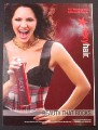 Magazine Ad for Sexy Hair Spray, Katharine McPhee Celebrity Endorsement, 2007