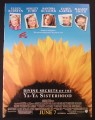 Magazine Ad for Divine Secrets Of The Ya-Ya Sisterhood Movie, Sandra Bullock, 2002