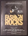 Magazine Ad for Fashion Rocks TV Show, Host Jeremy Piven, 2007