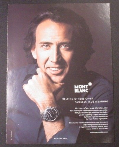 Magazine Ad for MontBl...